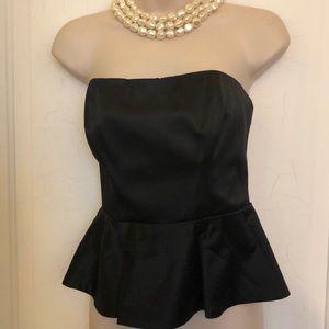 Bebe black sleeveless top XS